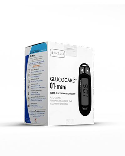 دستگاه تست قند GLUCOCARD مدل 01-mini
